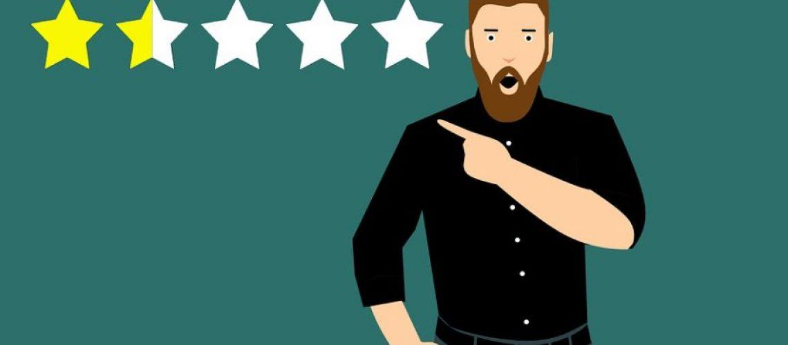 negative reviews online